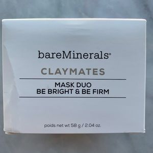 bareMinerals claymates mask duo be bright be firm